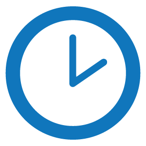 small icon of a clock