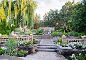 Ricks Gardens on BYU-Idaho's campus